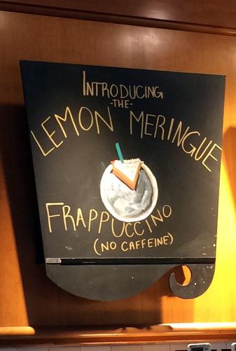 Starbucks Lemon Meringue Pie Frappuccino, reviewed