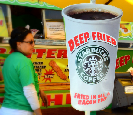 Deep Fried Starbucks at the San Diego County Fair