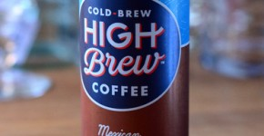 High Brew Cold Brew Coffee Mexican Vanilla, reviewed