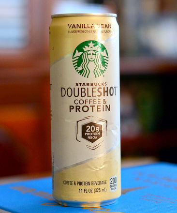 Starbucks Doubleshot Coffee Protein Vanilla Bean Reviewed