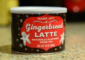 Trader Joe's Gingerbread Latte Mix, reviewed