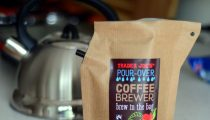 Trader Joe's Pour Over Brew In The Bag Coffee Brewer Brazil, reviewed