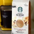 Starbucks Via Instant Latte White Chocolate Mocha, reviewed