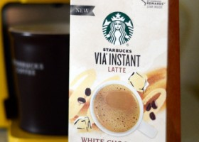 Starbucks Via Instant Latte White Chocolate Mocha, reviewed