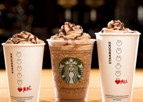 Starbucks Launches Molten Hot Chocolate Trio for Valentine's Day